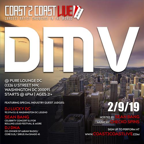 Coast 2 Coast Live Dmv 2 9 19 Coast 2 Coast Events Largest