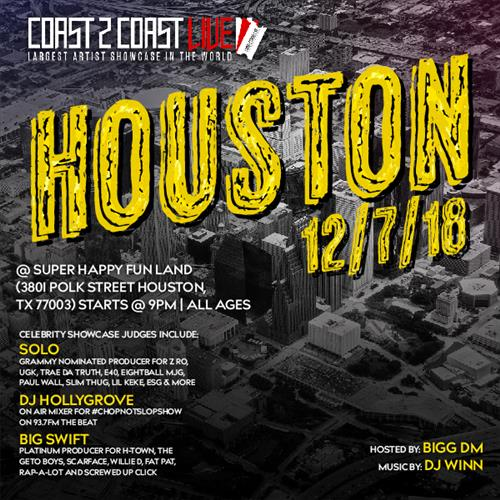 Coast 2 Coast LIVE - Houston Edition 12/7/18