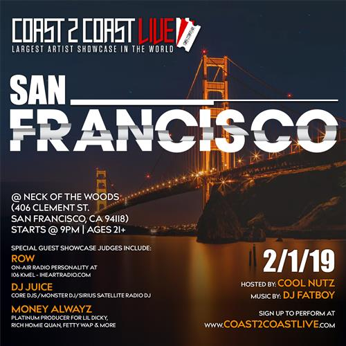Coast 2 Coast Live San Francisco Edition 2 1 19 Coast 2 Coast
