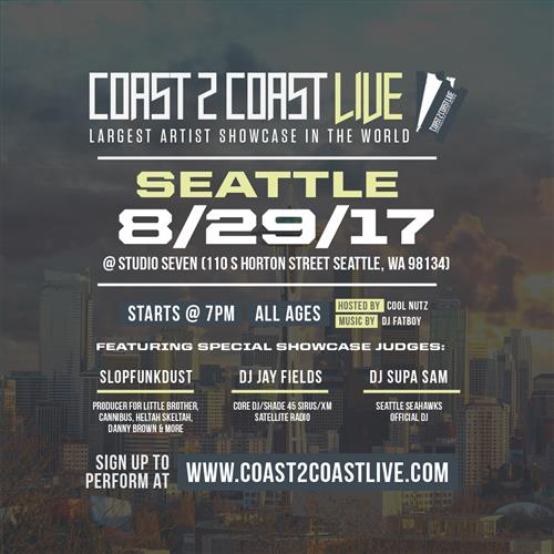 Coast 2 Coast LIVE Interactive Artist Showcase Seattle1 8/29/17