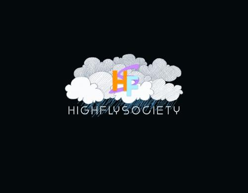 High fly society logo